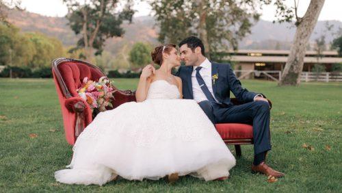 CALAMIGOS Equestrian Wedding Video
