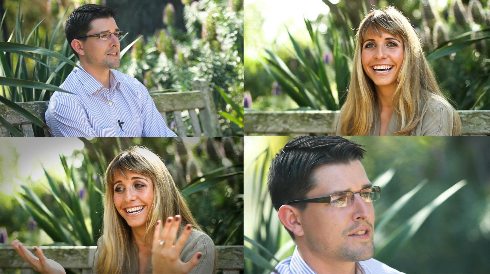 San Diego Wedding Love Story Botanical Gardens
