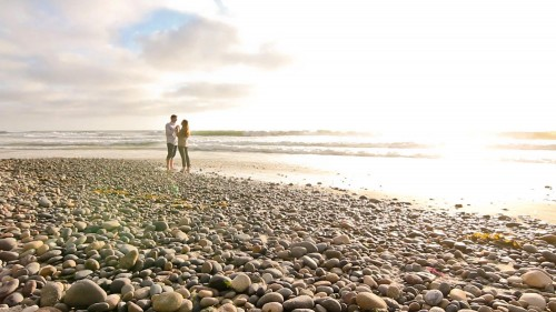 San Diego Wedding Love Story Beach