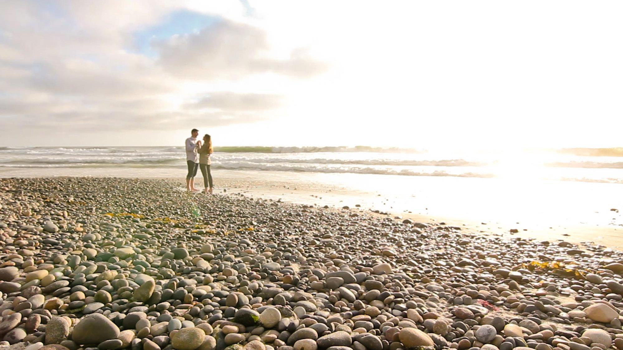 San Diego Wedding Love Story Beach
