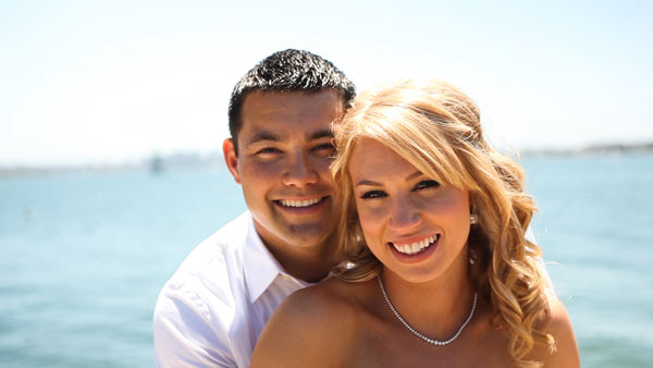 San Diego Wedding Videographers at Admiral Kidd Club