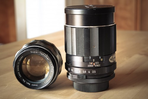 Pentax Vintage lenses-2