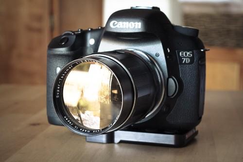 Vintage Pentax 135mm lens