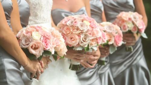 Brides Maids Boquets