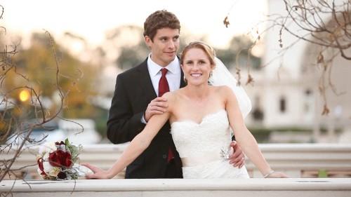 Bride at Balboa Park