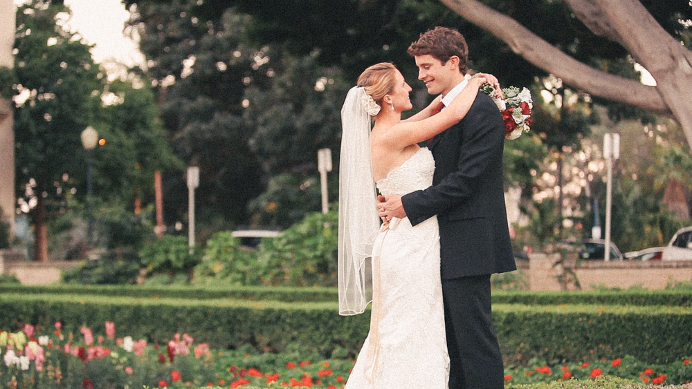 Bride and Groom Balboa Park