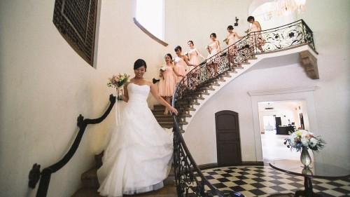 Villa del Sol d'Oro Staircase