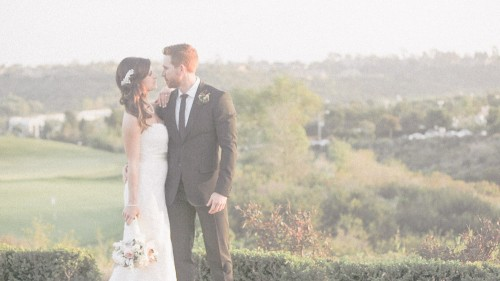 Wedding from the crossings in Carlsbad, Ca.