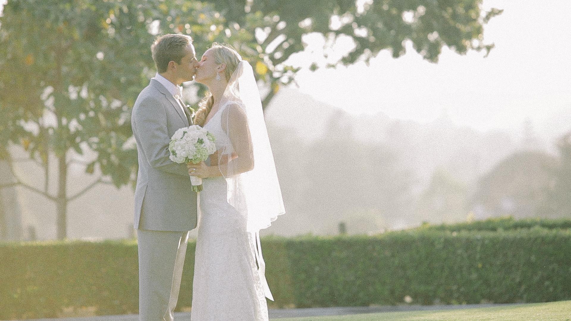 Bride and Groom Lomas Santa Fe Country Club