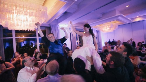 Jewish wedding chora in San Diego