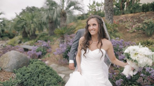 Bride in plants