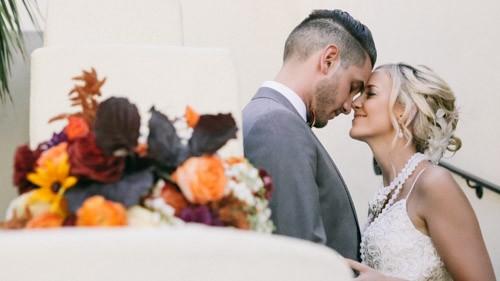 bride and groom san diego wedding