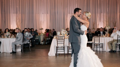First dance wedding video