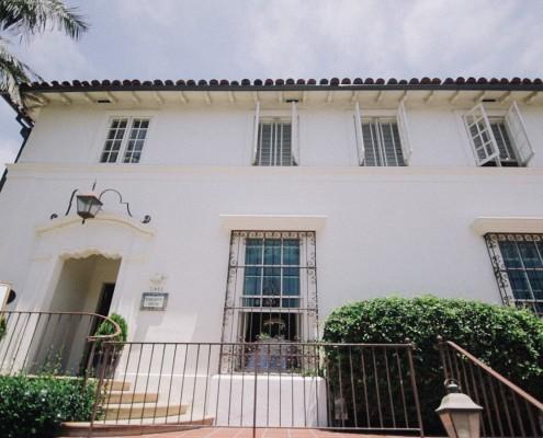 Darlington house exterior La Jolla wedding video