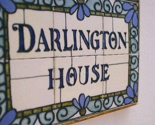 Darlington House Sign