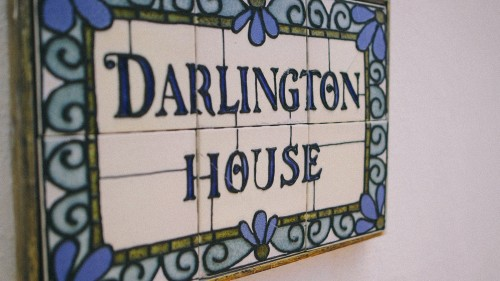 Darlington House Sign