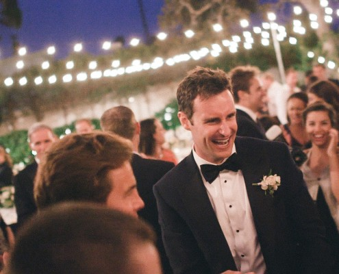 Dancing groom Darlington House La Jolla