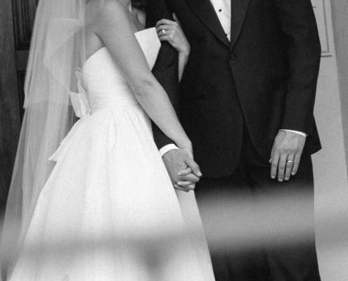 Bride and groom La Jolla