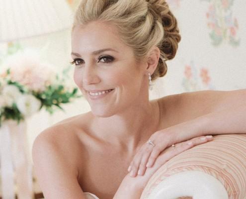 Happy bride San Diego