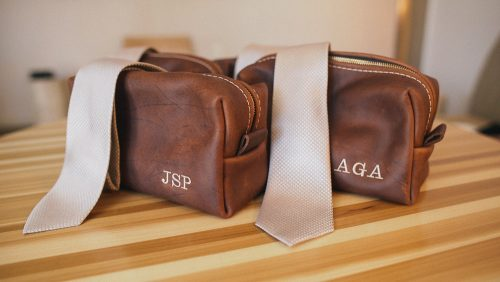 Groomsmen gifts leather bags