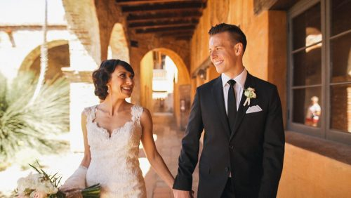 San Juan Capistrano Mission Wedding