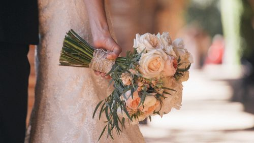 Brides bouquet Mission