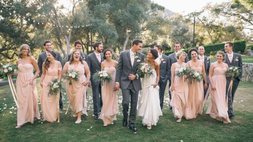 Mt. Woodson Castle Wedding Group