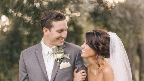 Bride and groom married at Mt Woodson Castle wedding video