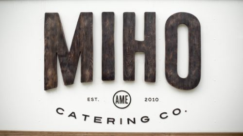 MIHO catering truck wedding