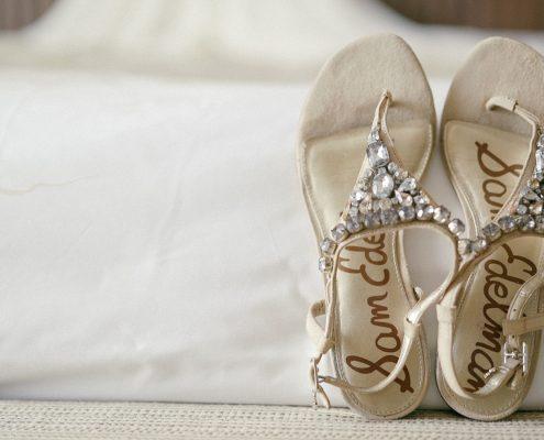 cute wedding sandals