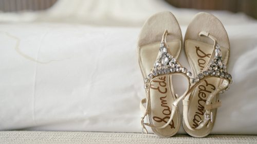 cute wedding sandals