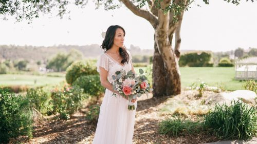 Bride at Crossings in Carlsbad
