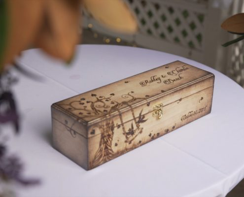 wedding time capsule box