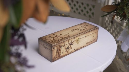 wedding time capsule box
