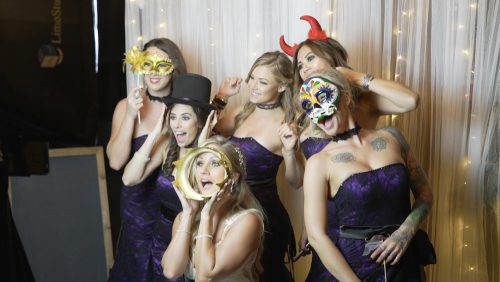 Bride's maids photo booth