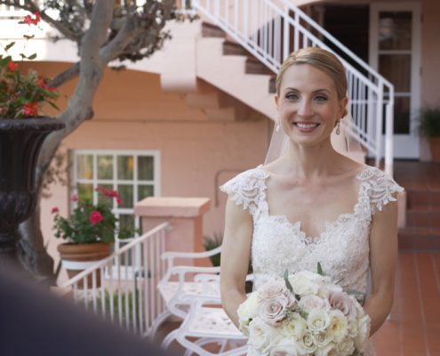 First look wedding video la jolla