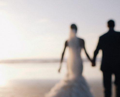 bride and groom wedding scripps pier