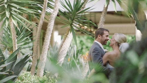 bride and groom wedding estancia