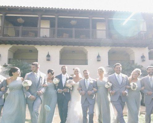 Group photo estancia wedding