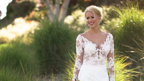 Bridal photos at Crossings at Carlsbad