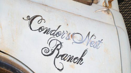 Condor's Nest Ranch sign